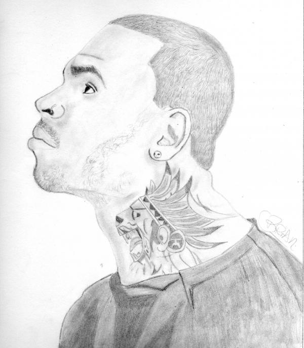 Chris Brown by Brian4